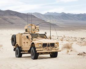 Картинки Боевая техника 2016-17 Oshkosh M-ATV EXI Армия Автомобили