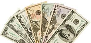 Обои Деньги Банкноты Доллары 1 2 5 10 20 50 100