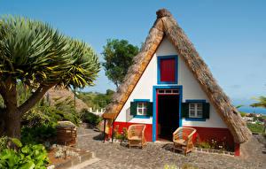 Картинки Португалия Здания Дизайн Кресло Madeira