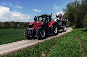 Фото Дороги Сельскохозяйственная техника Трактор 2014-17 Massey Ferguson 7720 Worldwide