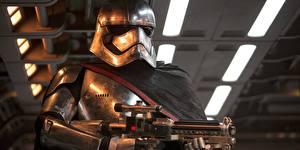 Фотография Звёздные войны: Пробуждение Силы Шлема captain phasma