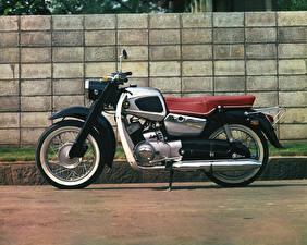 Картинки Сузуки Винтаж Сбоку 1960 Colleda 250TA Мотоциклы