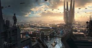 Фотографии Titanfall 2 Фантастический мир Фэнтези