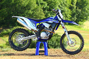Фотографии Сбоку 2017 Sherco 450 SEF-R Racing Мотоциклы