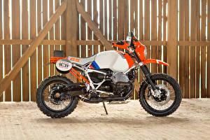 Обои BMW - Мотоциклы Сбоку 2016 Motorrad Concept Lac Rose