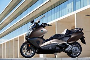 Картинка BMW - Мотоциклы Скутер Сбоку 2012-16 C 650 GT