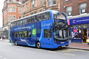 Картинки Автобус Синий