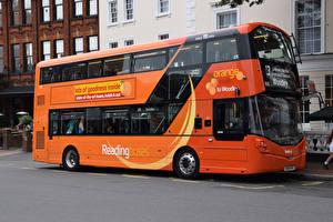 Картинки Автобус Оранжевый Машины