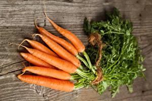 Обои Морковь Вблизи Доски Пища