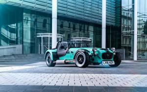 Обои Caterham 7 Салатовый 2016 Seven 620 S Автомобили
