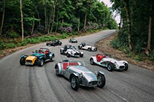 Картинка Caterham 7 Дороги Много 2016-17 Seven Sprint Автомобили