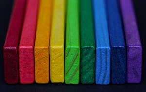 Картинки Вблизи Доски Разноцветные