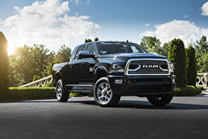 Фотографии Dodge Пикап кузов 2018 Ram 2500 Limited  Tungsten Edition  Mega Cab