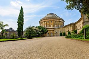 Обои Англия Дворец Ickworth House Города картинки