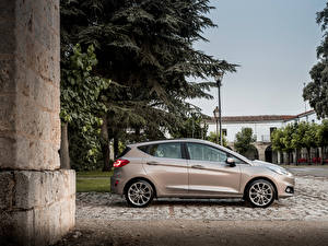 Обои Ford Металлик Сбоку 2017 Vignale Fiesta 5-door Worldwide Автомобили картинки