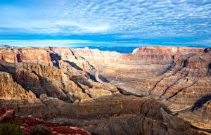 Обои Гранд-Каньон парк США Парк Горы Небо Каньон Природа