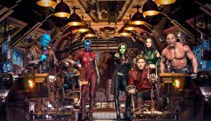 Обои Стражи Галактики. Часть 2 Мужчины baby Groot, Mantis, Nebula, Rocket, Drax, Groot, Gamora Фильмы Знаменитости Девушки картинки