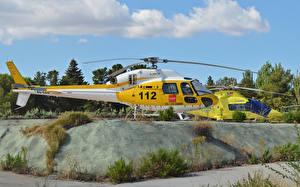 Картинка Вертолеты 2 Сбоку Авиация