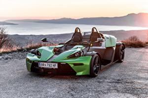 Картинки KTM Автомобили Зеленый 2016 X-Bow R машины