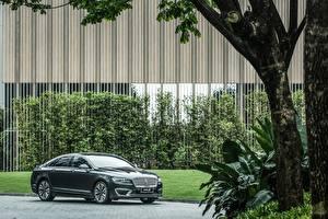 Фотографии Lincoln Зеленый Металлик 2017 MKZ H автомобиль