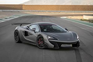 Картинки McLaren Серая 2016-17 Vorsteiner 570-VX Aero Автомобили