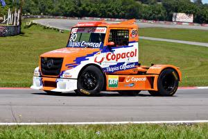 Картинки Mercedes-Benz Грузовики Тюнинг 0016-17 Formula Truck