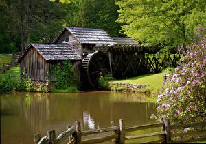 Фото Водяная мельница