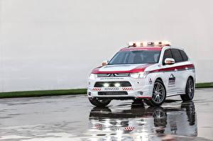 Картинка Мицубиси CUV Outlander, Safety Car Авто