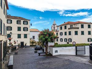 Картинка Португалия Здания Улица Madeira Ponta do Sol Города