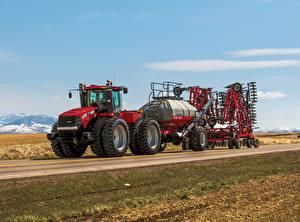 Картинки Дороги Трактор 2013-17 Case IH Steiger 470 HD
