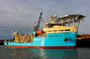 Фотография Корабли Голубой DeepOcean's Maersk Connector