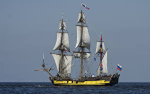 Фотографии Корабли Парусные