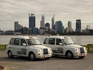 Картинка Такси - Автомобили 2 Белый 2010-17 London Taxi Company TX4 Авто