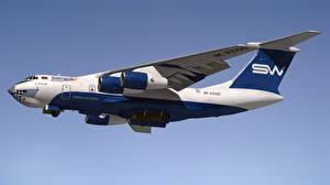 Фотография Самолеты Транспортный самолёт Российские Ilyushin Il-76