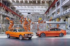 Картинки BMW Оранжевая Две Металлик Завод 1975-2017 3 Series машины