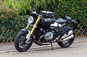 Обои BMW - Мотоциклы Черный R nine T Мотоциклы