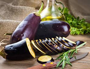 Обои Крупным планом Eggplant Еда