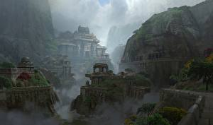 Картинка Фантастический мир Uncharted: The Lost Legacy Храмы Фэнтези