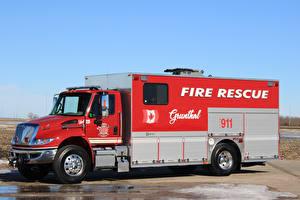 Фото Пожарный автомобиль 2017 International DuraStar 4400 Fire Rescue Автомобили
