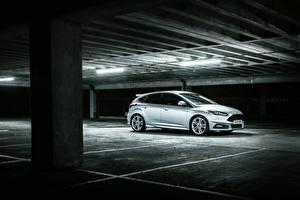 Картинка Форд Паркинг Серебристый Focus 2015 Авто