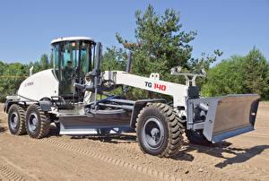 Фото Сельскохозяйственная техника Белый Grader 2012-17 Terex TG140