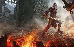 Фото Иллюстрации к книгам Воители Огонь Мечи Legends of Erodhar: The stick of Argoroth