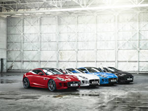 Фото Ягуар Металлик 2016 F-Type British Design Edition Автомобили