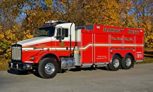 Фотография Кенворт Пожарный автомобиль 2016 T-800 Tanker UPF 2500
