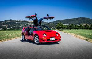 Картинки Mazda Дороги Красных 1992-94 Autozam AZ-1 Mazdaspeed A-spec машины