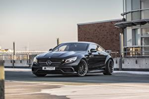 Обои Mercedes-Benz Черный C217 PD990SC Prior-Design Авто