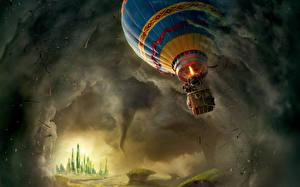 Фото Аэростат Торнадо Oz the Great and Powerful Кино