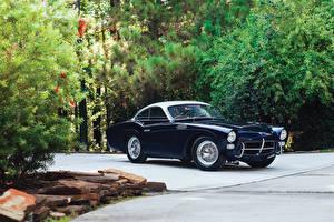 Фотографии Винтаж Синий Металлик Купе 1955 Pegaso Z-102 B Coupe por Saoutchik Машины