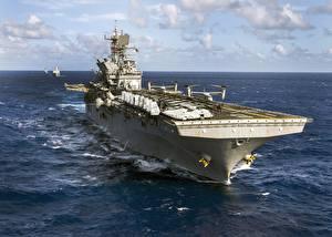 Фотографии Корабли Американские USS Makin Island (LHD 8) Армия
