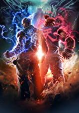 Фотография Tekken Волшебство 2 7, Fated Retribution, Heihachi, Namco Bandai, Akuma